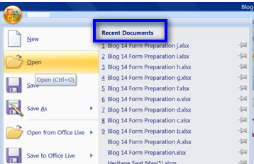 how to clear recent documents in word 2010